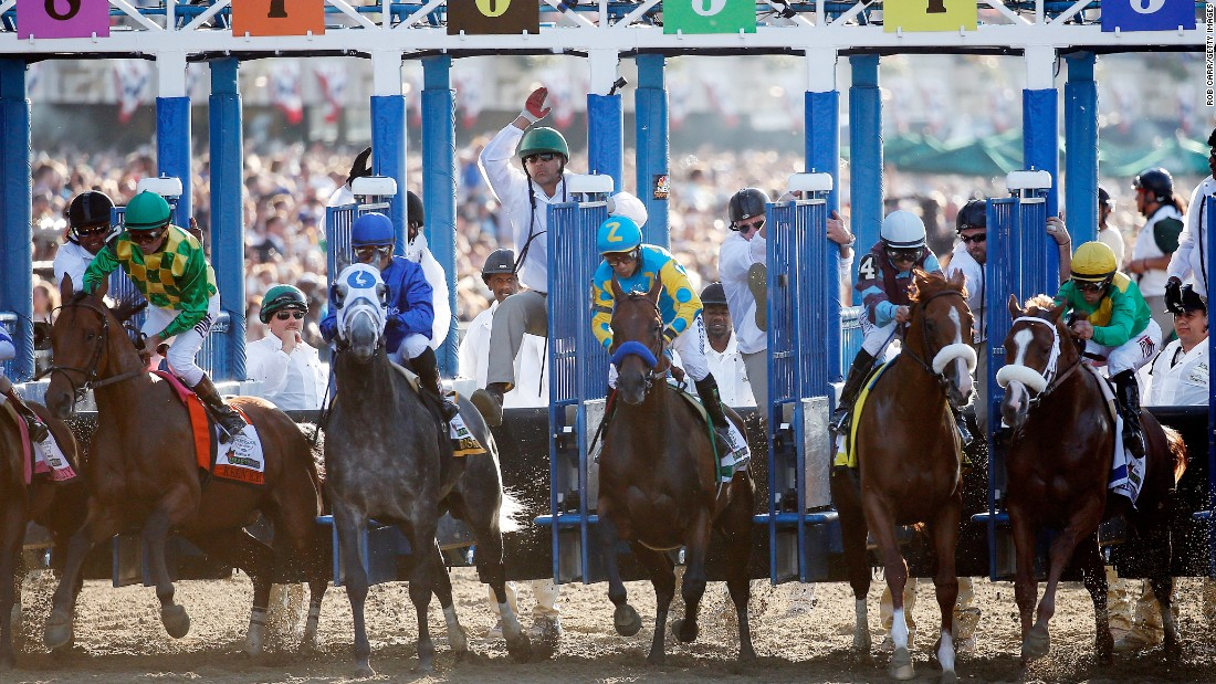And they're off! Until Saturday, 13 horses since 1979 had won at Churchill Downs and Pimlico but failed to triumph at Belmont.<br />