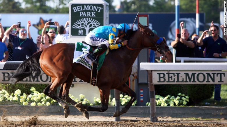 The 3-year-old bay colt led wire-to-wire and defeated second-place Frosted by a comfortable margin.