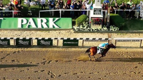 belmont american pharoah triple crown wrap scholes_00001029