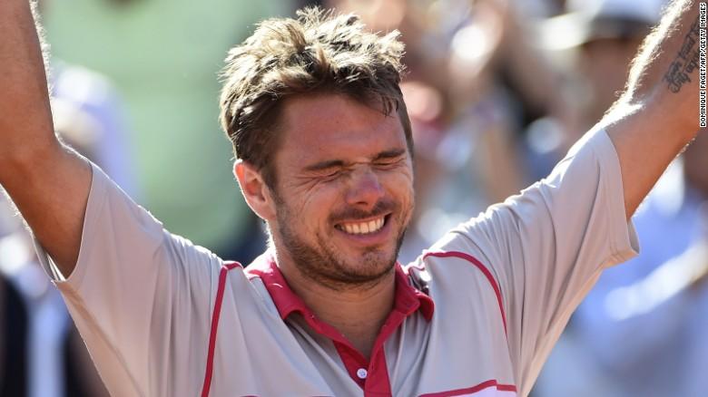 [網球] 法網決賽,Wawrinka擊敗Djokovic ,取得個人第二個大滿貫!