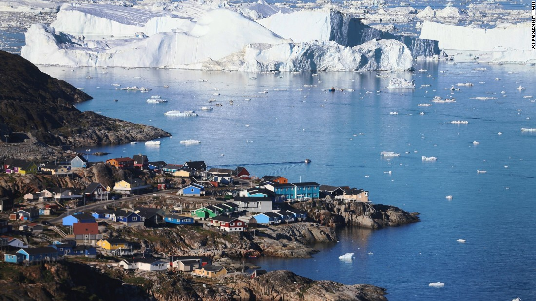 "It'll come as a surprise to some that Greenland isn't a recognized country but an autonomous part of Denmark. <a href=""/2015/02/02/travel/gallery/unesco-global-treasures-natural/index.html"" target=""_blank"">Ilussant Icefjord</a> is among the UNESCO-recognized highlights of any trip to the would-be state."