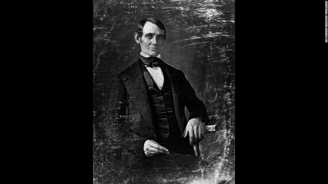 "Not one to initiate a visit to a photography gallery, Abraham Lincoln nevertheless was an accommodating subject whose portraits showed the progression of his career. This photograph by Nicholas H. Shepherd was taken in Springfield, Illinois, probably in 1846. It is the earliest known photograph of Lincoln and one of 114 portraits in <a href=""https://steidl.de/Books/The-Photographs-of-Abraham-Lincoln-0326314748.html"" target=""_blank"">""The Photographs of Abraham Lincoln,""</a> a recently published book."