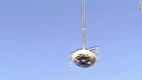 nasa mars flying saucer launch test ldsp vos_00000829