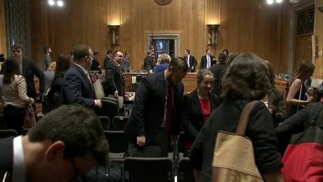TSA Senate hearing evacuation clearing homeland security_00003423