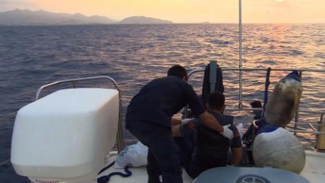 greece coast guard migrant rescue soares lok_00001115