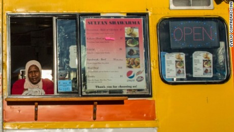 Omima Adam's food truck