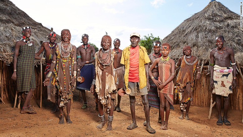 """The Tribe"" is a Channel 4 reality show set in Ethiopia's Omo Valley."