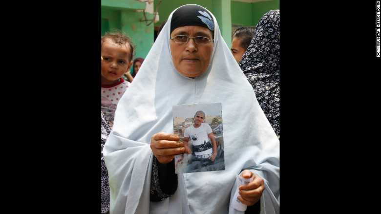 This mother has not heard from her son, Sobhi Abdalkareem, for nearly two years. She believes he is in prison in Italy. She wanted CNN to find out when he will be home.