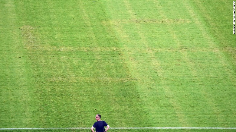 Euro 2016: Croatia apologizes over Nazi swastika on its home pitch