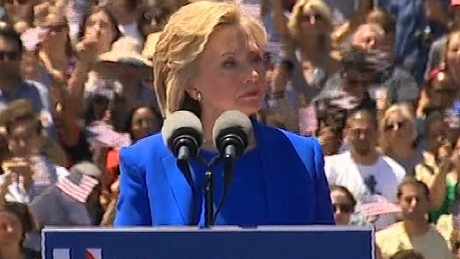 Clinton: My mother was a house maid at age 14