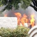 13 dallas shooting van fire