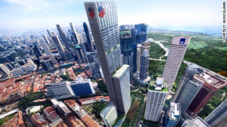 Living in the skies of singapore for Tallest hotel in singapore