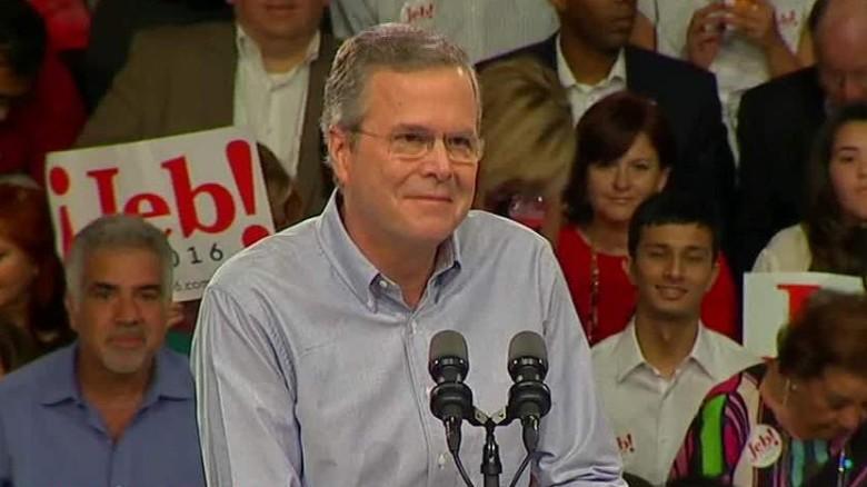 jeb bush presidential announcement bts_00000000
