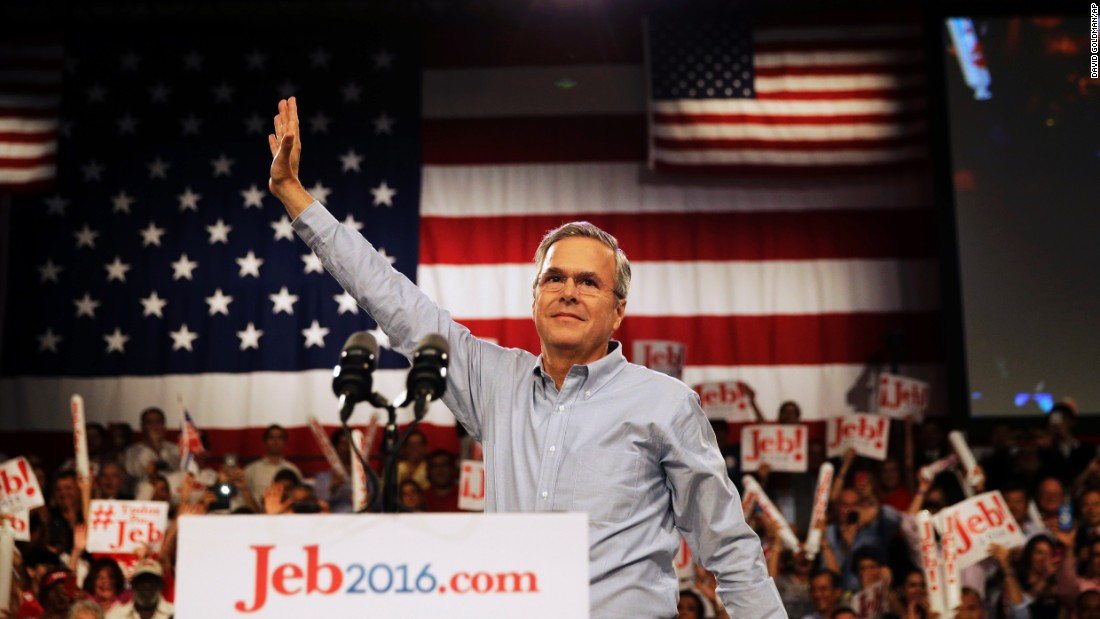 "Former Florida Gov. Jeb Bush kicked off his campaign for the 2016 GOP nomination on June 15 in Miami. If his campaign is victorious, the Bush clan will become the only American family to have elected three of their own to the highest office in the land.<br /><br />""We will get back on the right side of free enterprise and freedom for all Americans,"" Bush said during his announcement."