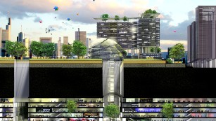Options are being explored for an underground science city, housing up to 4000 researchers.