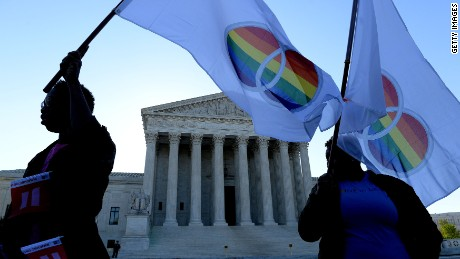 The Supreme Court will soon rule on whether there's a constitutional right to same-sex marriage, a decision that could profoundly affect the lives of millions of Americans. Some legal scholars see the court's gradual movement on gay rights issues as proof that the court is a force for change. But others say the court's role is largely the opposite.