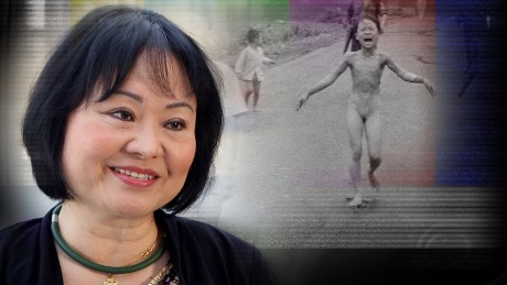 Girl in iconic Vietnam photo still carries scars