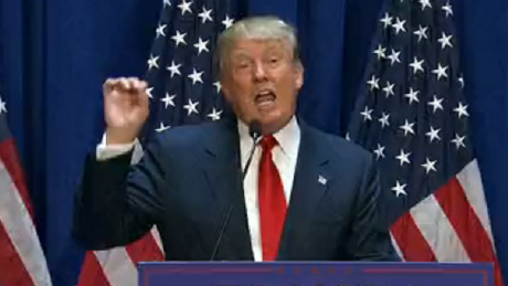 Donald Trump launches 2016 presidential bid