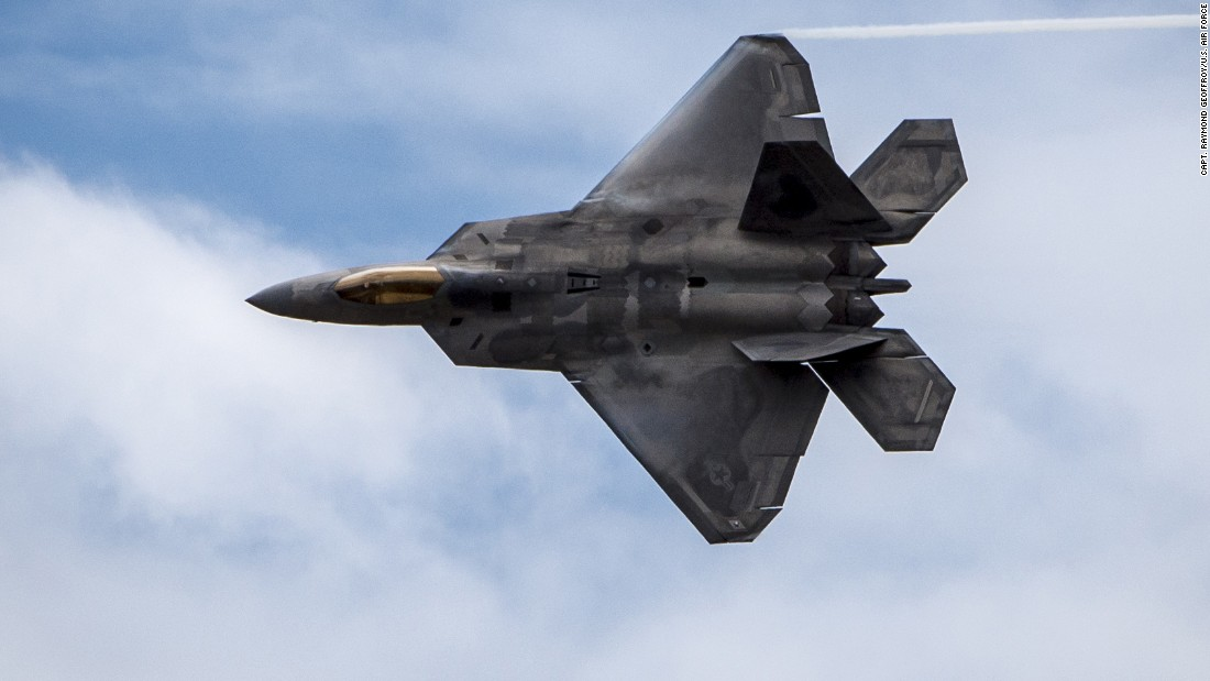 The F-22 Raptor is the Air Force's most-advanced aircraft. The Raptor's sophisticated aero design, advanced flight controls, thrust vectoring, and high thrust-to-weight ratio provide the capability to outmaneuver all current and projected aircraft.