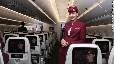"Qatar Airways: ""The seats were comfortable, the food was good and the staff were courteous,"" says Rema0606."