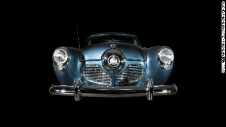 Photographer William Anthony took portraits of cars at the LeMay car museum in Tacoma, Washington.