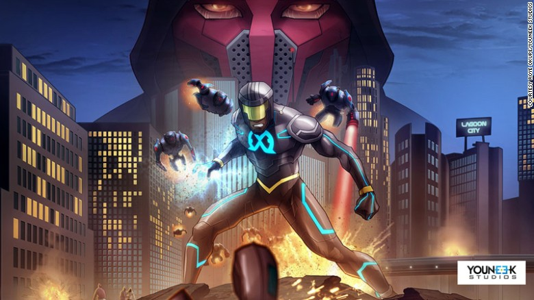 """E.X.O.: The Legend of Wale Williams"" is the brainchild of Nigerian web developer Roye Okupe."