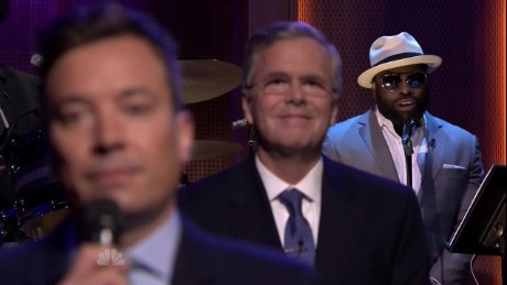exp Jeb Bush slow jams news Jimmy Fallon Tonight Show_00013111
