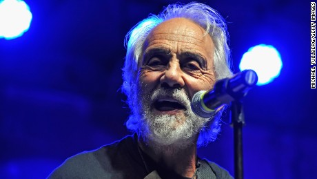 LOS ANGELES, CA - OCTOBER 25: Comedian Tommy Chong of Cheech amp; Chong performs at Festival Supreme at The Shrine Expo Hall on October 25, 2014 in Los Angeles, California. (Photo by Michael Tullberg/Getty Images)