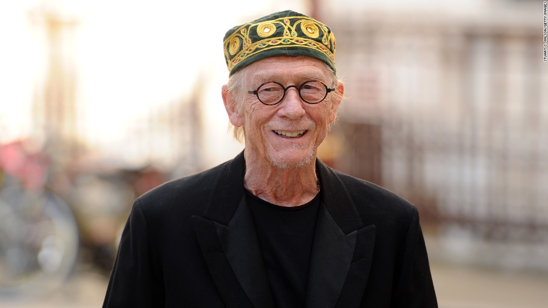 "Sir John Hurt, known for performances in ""Alien,"" ""The Elephant Man"" and the Harry Potter movies, <a href=""http://www.theguardian.com/film/2015/jun/16/john-hurt-optimistic-reveals-pancreatic-cancer-diagnosis"" target=""_blank"">told the British Press Association</a> that he has pancreatic cancer. The disease is in its early stages, he said, and he is ""more than optimistic about a satisfactory outcome, as indeed is the medical team."""