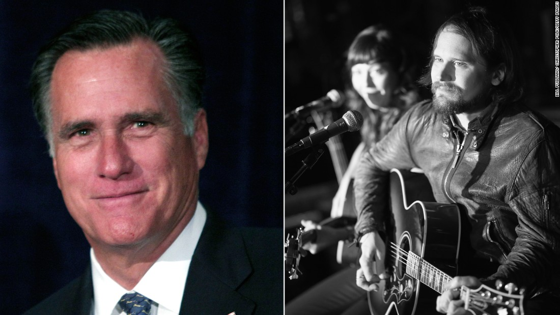 "The Silversun Pickups told Mitt Romney's campaign to not use their song ""Panic Switch."""