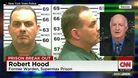 manhunt david sweat richard matt prison break robert hood prison warden supermax don lemon cnn _00022507