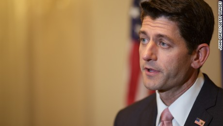 U.S. Rep. Paul Ryan (R-WI) speaks during a press conference at the Union League Club of Chicago August 21, 2014 in Chicago, Ilinois.