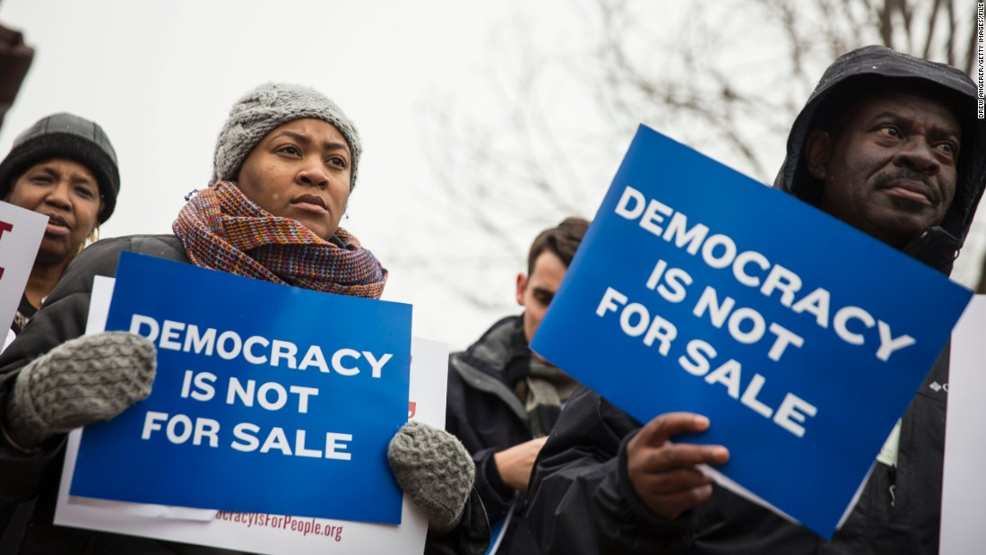 "Many court critics have also questioned the wisdom of the 2010 Citizens United v. FEC decision, which opened the floodgates for campaign financing, allowing outside groups to spend record amounts. Millhiser said the ruling ""gave billionaires a far-reaching right to corrupt American democracy."""