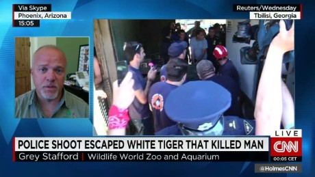 white tiger kills and shot flooding intv cnntoday_00005119