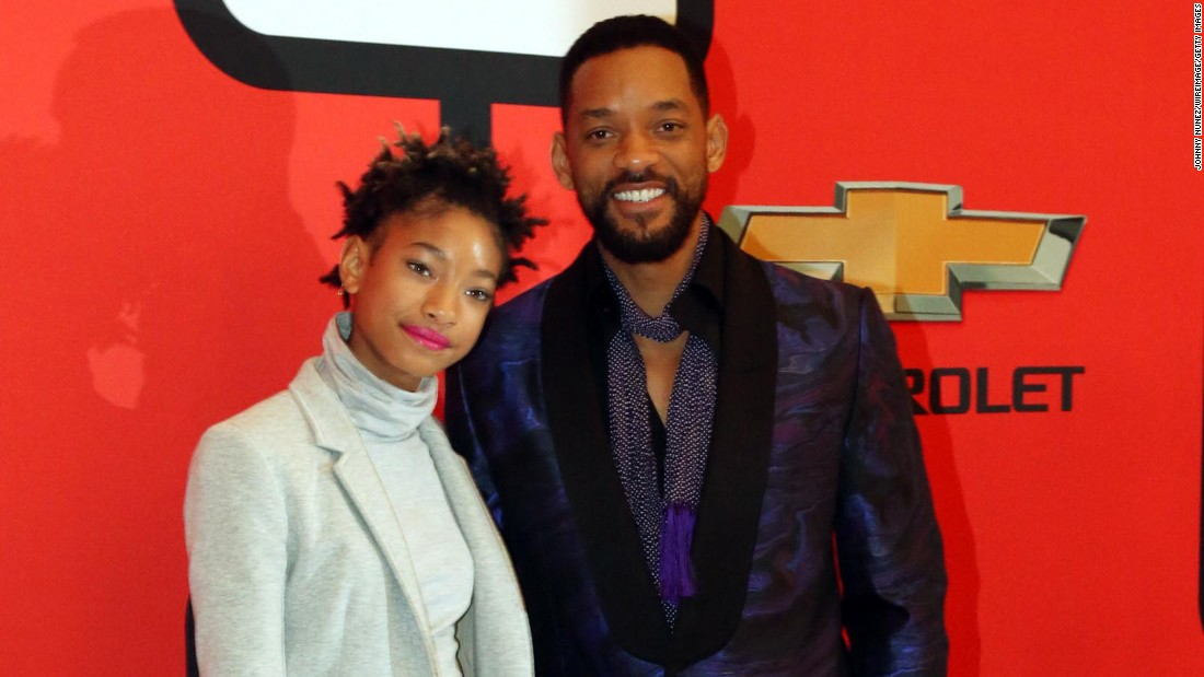"The youngest of the Smith siblings, Willow is a triple threat -- she can sing, dance and act. She made her acting debut alongside her dad in ""I Am Legend."" She's currently signed to Roc Nation records and is the youngest artist signed to the label."