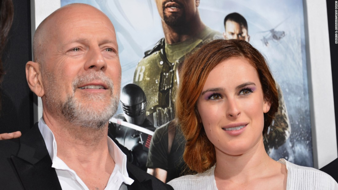 """Rumer is following in the footsteps of her famous parents Bruce Willis and Demi Moore. The actress has a string of acting roles on her résumé and recently won the Mirror Ball Trophy on """"Dancing with the Stars."""""""