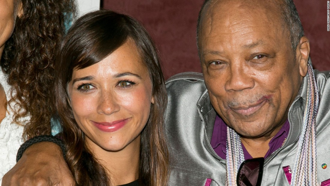 "Rashida is known for her roles in hit TV shows like ""Parks and Recreation"" and ""The Office."" Her famous music producer dad has won 27 Grammys."
