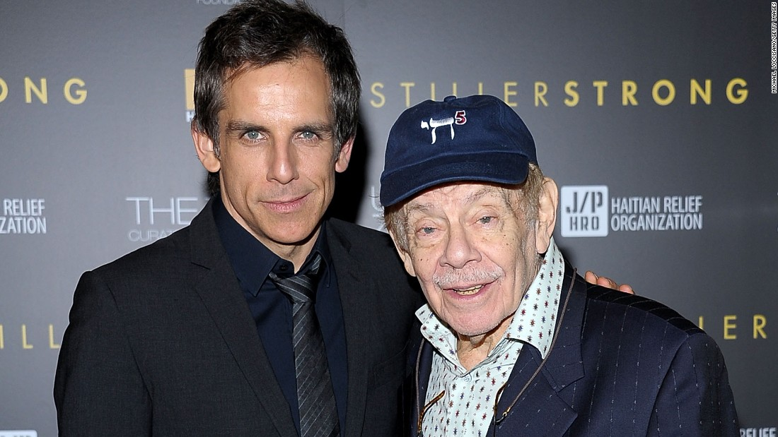 """The father-son duo have shared the screen on many occasions, including """"Zoolander"""" and """"The Heartbreak Kid."""""""