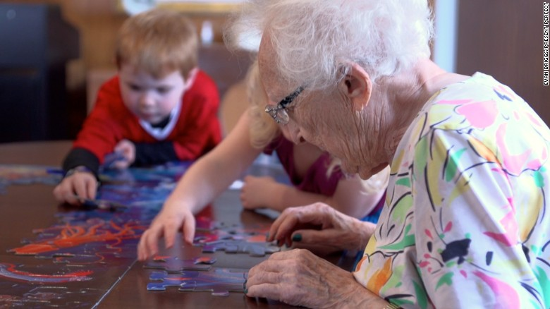 "At the <a href=""http://washington.providence.org/senior-care/mount-st-vincent/services/child-care/about-child-care/"" target=""_blank"">Intergenerational Learning Center</a> in Seattle, preschool children interact with retirement home residents on a daily basis. They sing, dance, make art, read stories together and just visit."