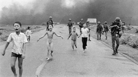Running and screaming: the photo that changed a war