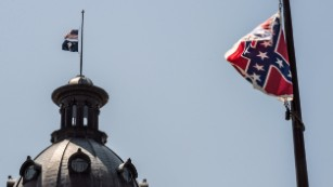 Confederate flag supporter: I will not turn my back