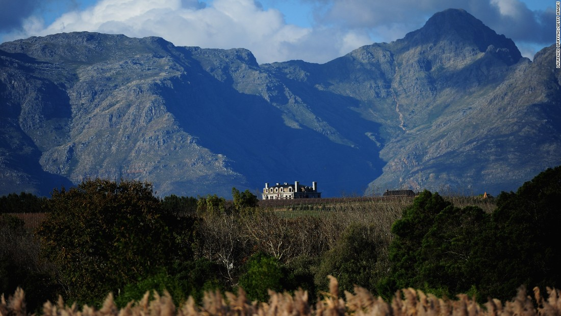 The Western Cape is responsible for most of the nation's wine making, with Constantia and Stellenbosch (pictured) the most famous areas within the region.<br />