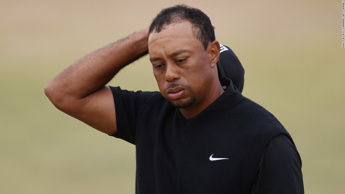 u s  open 2015  tiger woods laughs off new low