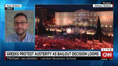 Greeks protest austerity as bailout decision looms_00041604