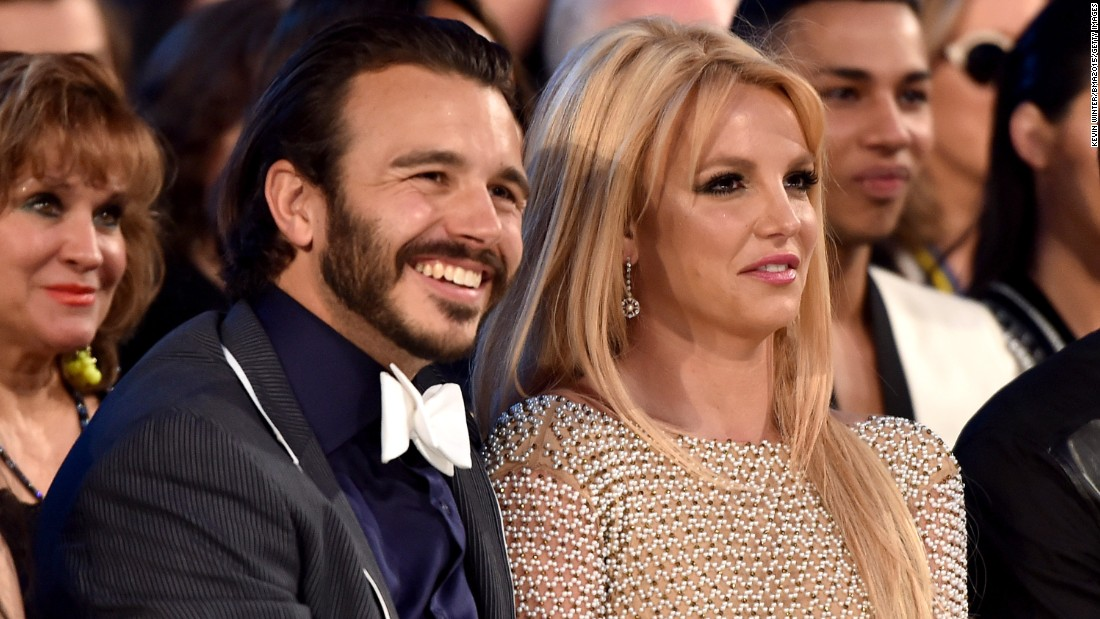 "Charlie Ebersol and Britney Spears attended the 2015 Billboard Music Awards in May, but by late June, the couple <a href=""http://www.usmagazine.com/celebrity-news/news/britney-spears-boyfriend-charlie-ebersol-split-breakup-details-2015226"" target=""_blank"">had reportedly split. </a>"