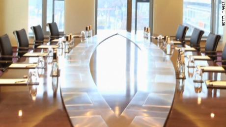 Meeting room at a top 100 UK company