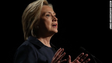 Democratic presidential candidate and former U.S. Secretary of State Hillary Clinton speaks during the 2015 United States Conference of Mayors on June 20, 2015 in San Francisco, California.