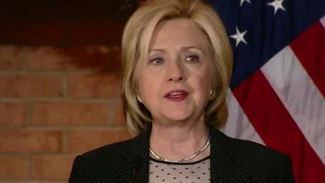 Hillary Clinton: Confederate flag 'shouldn't fly'