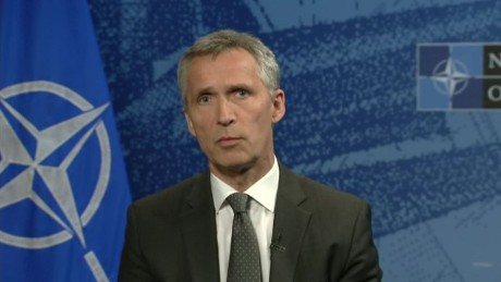 NATO chief Jens Stoltenberg condemns Russia's incursion into Turkish airspace.