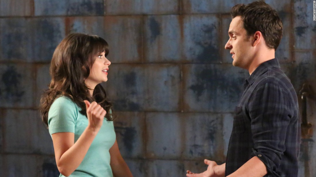 "When Zooey Deschanel's Jess moved in with three guys in Fox's hit sitcom ""New Girl,"" you knew she would end up with one of them. It soon became clear that she had a connection with Nick (Jake Johnson), but fans wondered how long before they would become a couple. They did, but have had some ups and downs since then. Here's a look at other TV couples we've cheered on."
